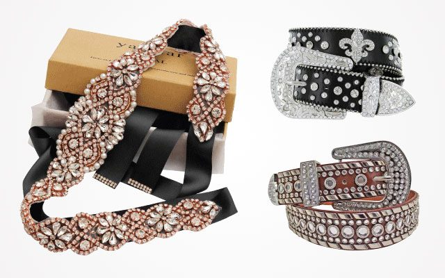 Amazing Rhinestone Belts For Women [Updated 2019] – The Coolest Style That You Should Try!