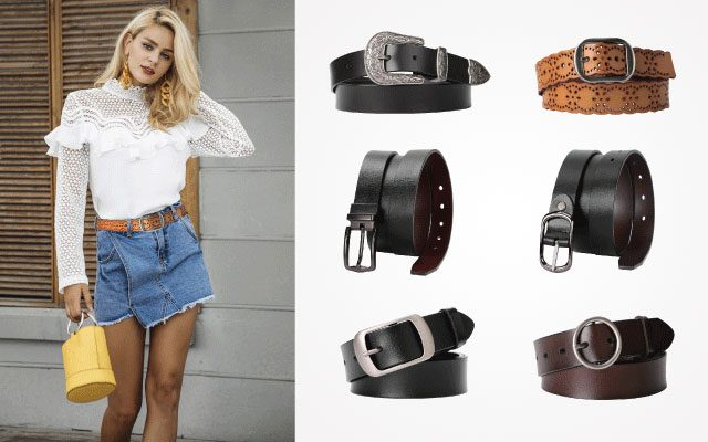 Trendy Leather Belts For Women – That You Shouldn't Miss [Updated 2019]